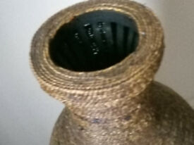 Tall Wicker Vase
