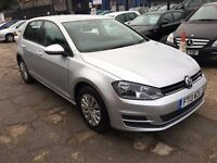 Volkswagen Golf 1.4 TSI S DSG 5dr (start/stop)£8,995 p/x welcome FREE 1 YEAR WARRANTY, NEW MOT