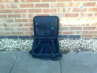 Quality laptop bag and travel/work case, as new