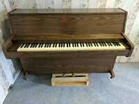Immaculate Dark Oak 'Lowrey' Upright Console Piano - CAN DELIVER