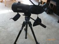 opticron telescope & tripod