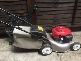 Honda Petrol mower easy start gcv135