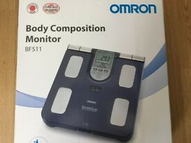 Omron BF511 Body Composition Monitor Scale for sale