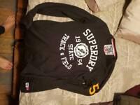 Superdry long sleeved t shirt black
