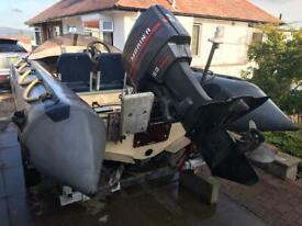 Mariner / Mercury 60hp 2 stroke outboard boat engine