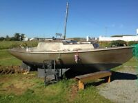 CORRIBEE SAILING YACHT/ IN GOOD CONDITION /ALL EQUIPMENT INCLUDED
