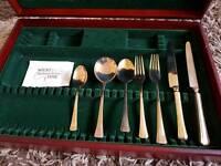 Hand made Thai Bronze cutlery set