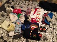 Baby boy clothes various sizes