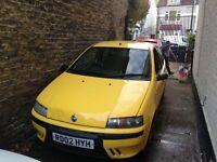 2002 Fiat Punto 1.2 starts & drives fine £110