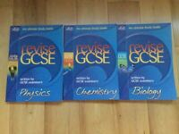 Letts GCSE science revision guides