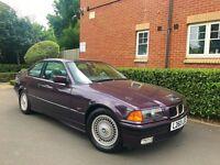 "1993 L REG BMW 3 Series E36 2.5 325i Auto 2dr "" COUPE "" HPI CLEAR """