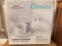 4 * Royal Worcester Classics 5 Piece Set BNIB