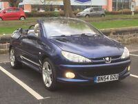 2004 peugeot 206cc 1.6 allure * cream leather * long mot * alloys * px welcome * delivery *