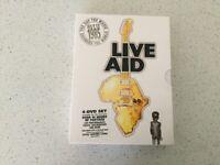 LIVE AID 4 DVD SET