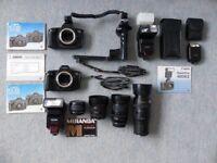 Canon EOS 650 Camera System