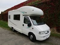 Autosleeper Pollensa 4 berth motorhome with end kitchen for sale
