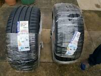 2 michelin tyres
