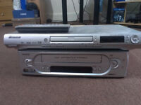 Pioneer DVD Player & Sanyo VCR Player - Very Good Condition - 2x Bad Golf Made Easier VHS Tapes