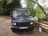 Land Rover Discovery, 2001, Spares or Repair