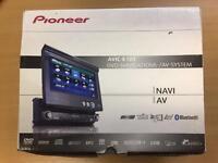 Pioneer AVIC-X1BT indash DVD SatNav stereo