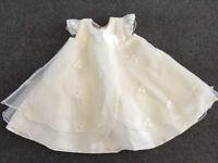 3-6 month Baby girl Bridesmaid/christening dress