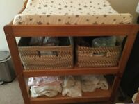Beautiful Changing Table with Baby Mat