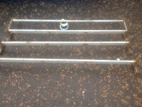 Ford transit roof rack 3 bar with roller