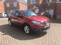 2010 NISSAN QASHQAI 1.5 N-TEC DIESEL, SAT NAV, CRUISE, GLASS ROOF, BLUETOOTH, AUX, MOT FEB 2018