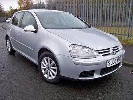 2008 (08) Volkswagen Golf 1.6 Fsi Match 5 Door Hatchback Silver