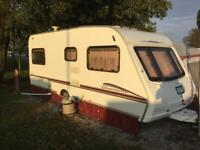 Fixed bed 4 berth caravan ono
