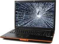 Wanted laptops with broken screens or password locked