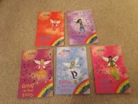 5 of the The Green Fairies - Rainbow Magic Fairy books
