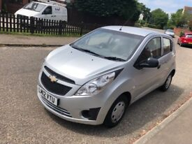 Chevrolet 1000cc spark plus 2012/12 low miles ideal first car