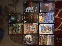 GameCube Bundle w/ 10 Games & HD converter