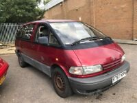 RARE TOYOTA PREVIA 2.4 GS MPV 8 SEAT FAMILY CAR AUTOMATIC PETROL SPACIOUS RED N VITO VAN SHARAN