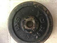 York Iron Cast Plate 5kg