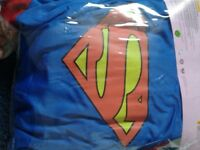 Super girl costume size 8-10 ladiez . Height 5ft to 5ft 5inches used once . Excellent condition