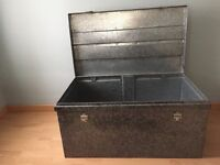 Stainless Steel Storage Trunk Container Box