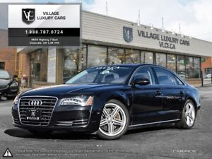 2014 Audi A8 L 4.0 BALANCE OF FACTORY WARRANTY | LONG WHEEL B...