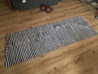 Black and white mat