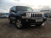 JEEP COMMANDER CRD 3.0 4x4, ONLY 98000 miles, 12 month MOT QUICKSALE!
