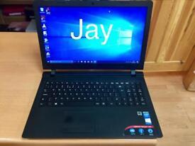Like New Slim Lenovo HD 4GB Ram Fast Laptop Massive 500GB,Window10,Microsoft office,Ready
