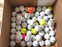 Golf Balls Mixed Bundle x 60, Lot 14, Titleist, Srixon, Nike, Wilson etc