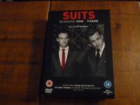 Suits DVD Boxset Seasons 1 to 3