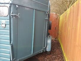Double horsebox europa vgc ready for conversion or general use