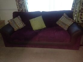 2 & 3 seater sofa's