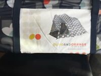 Orla Kiely Olive and Orange 2 person Tent **BRAND NEW**