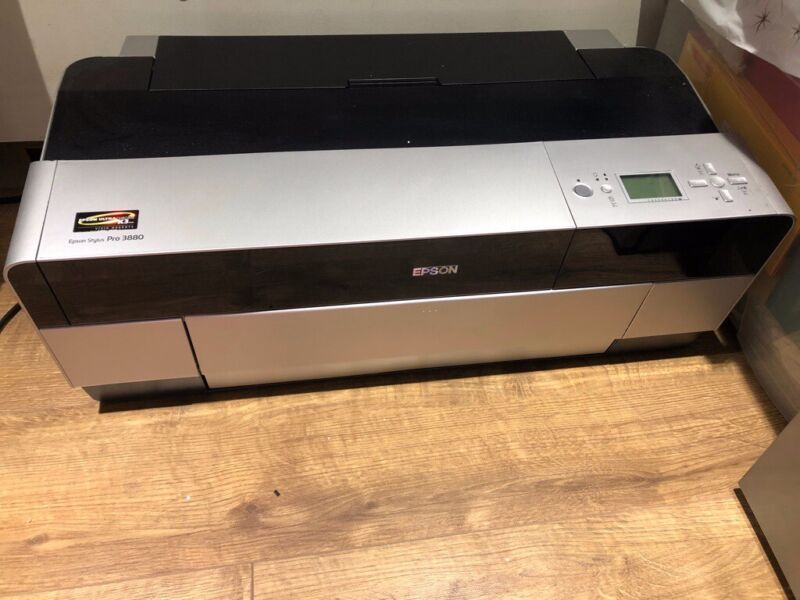 Epson Stylus Pro 3880 A2+ Printer - Comes with free inks for sale  Queens Park, North West London