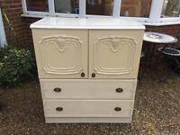 Charming Vintage Chest Of Drawers/Cabinet