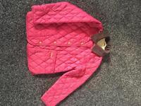 Girls Barbour jacket Small 6/7 in